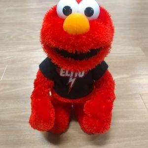 Elmo let's rock talking